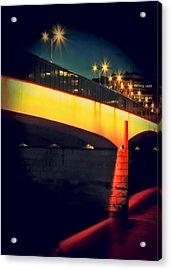 Secrets Of London Bridge Acrylic Print by Jasna Buncic