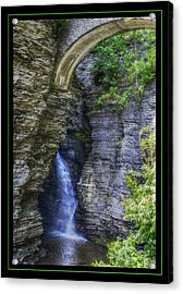 Secrets Of Watkin's Glen Acrylic Print by Matthew Green
