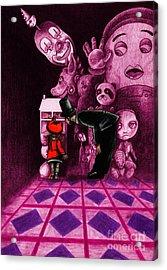 Secrets Acrylic Print by Spencer Bower