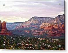 Sedona Evening Acrylic Print
