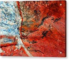 Sedona Red Rock Zen 1 Acrylic Print by Peter Cutler