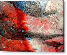Sedona Red Rock Zen 2 Acrylic Print
