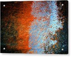 Sedona Red Rock Zen 51 Acrylic Print by Peter Cutler