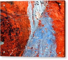 Sedona Red Rock Zen 70 Acrylic Print by Peter Cutler