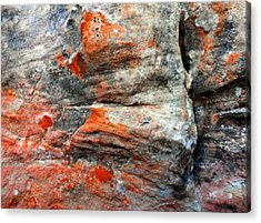Sedona Red Rock Zen 73 Acrylic Print by Peter Cutler