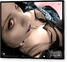 Acrylic Print featuring the photograph Seductress by Heather King