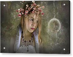 Seeing Fairies Acrylic Print