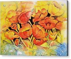 Seeking The Light Acrylic Print by Regina Ammerman