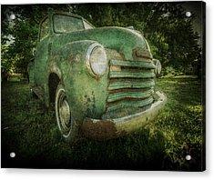 Seen Better Days Acrylic Print by Christine Annas