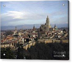 Segovia Acrylic Print by Leslie Hunziker