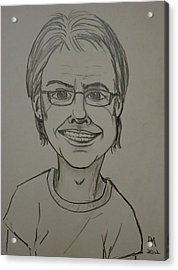 Self Acrylic Print by Pete Maier