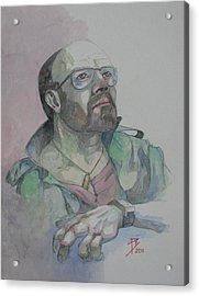 Self-portrait 2005 Acrylic Print by Ray Agius