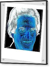 Self Portrait-5 Acrylic Print by Anand Swaroop Manchiraju