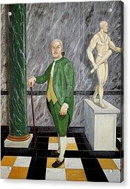 Self Portrait As A French Republican Acrylic Print by Howard Bosler