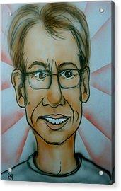 Self Portrait Acrylic Print by Pete Maier