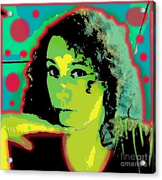 Self Portrait Pop Art Acrylic Print