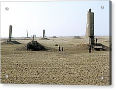 Semipalatinsk Nuclear Test Site Acrylic Print by Ria Novosti
