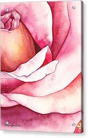 Semper Fi Acrylic Print by Casey Rasmussen White
