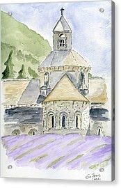 Senanque Abbey Provence Acrylic Print