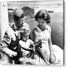 Senator John F. Kennedy, Caroline Acrylic Print by Everett