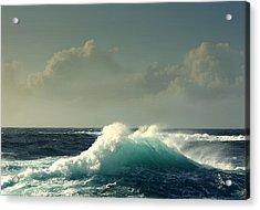 Sennen Surf Seascape Acrylic Print