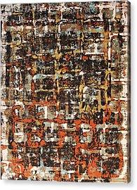 Senza Fine - Never Ending Acrylic Print by James Mancini Heath