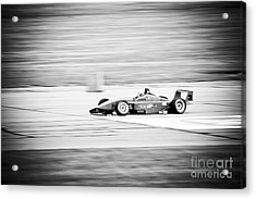 Sepia Racing Acrylic Print by Darcy Michaelchuk