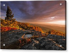 September Dawn Acrylic Print by Joseph Rossbach