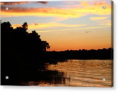 September Sky 12 Acrylic Print by Mike Wilber