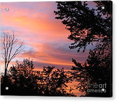 September Sunrise 3 Acrylic Print by Cedric Hampton