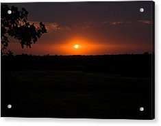September Sunset Acrylic Print