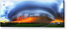September Supercell Acrylic Print by Evan Ludes