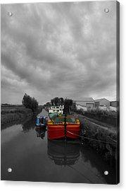 Sequana Beverley Canal Acrylic Print
