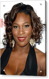 Serena Williams At Arrivals For The Acrylic Print
