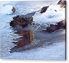 Serendipity In Ice  Acrylic Print