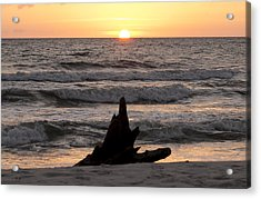 Acrylic Print featuring the photograph Serendipity Sunset by Judy Hall-Folde