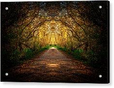 Serene Archway Acrylic Print