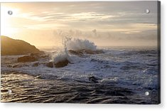 Acrylic Print featuring the photograph Serene Sunset  by Michael Rock