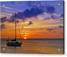 Serenity 2 Acrylic Print by Stephen Anderson