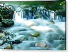 Serenity Acrylic Print by Andres LaBrada