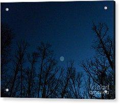 Serenity Blue Acrylic Print