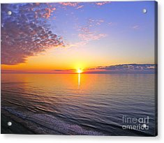 Acrylic Print featuring the photograph Serenity by Eve Spring