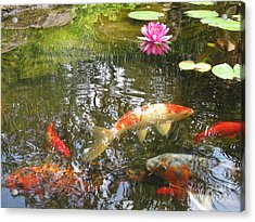 Acrylic Print featuring the photograph Serenity by Laurianna Taylor