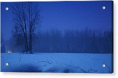 Serenity Acrylic Print by Tristan Bosworth