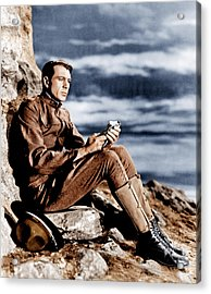Sergeant York, Gary Cooper, 1941 Acrylic Print