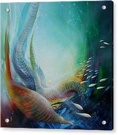 Serpula Spiralis Acrylic Print by Drazen Pavlovic