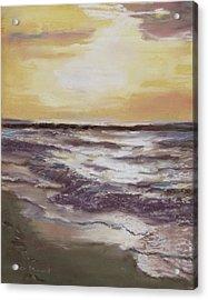 Sesuit Sunset Acrylic Print by Jack Skinner