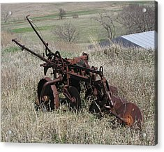 Set Out To Pasture Acrylic Print by Steve Sperry