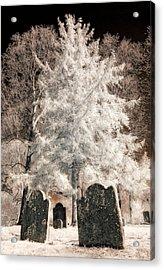 Setauket Graveyard Acrylic Print
