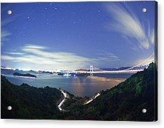 Seto Ohashi Acrylic Print by Trevor Williams/Fiz-iks